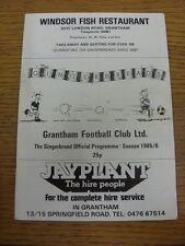 1985/1986 Grantham V Sheffield United [amigable] (plegado). toda falla con este