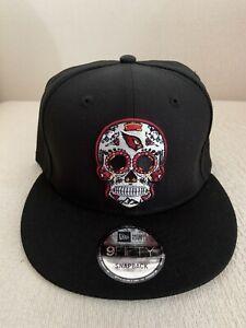 New Era Arizona Cardinals 9Fifty 950 Sugar Skull Sugarskull Snapback Hat Cap NEW