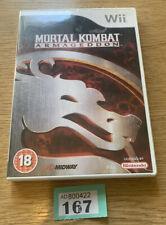 Nintendo Wii Mortal Kombat Armageddon