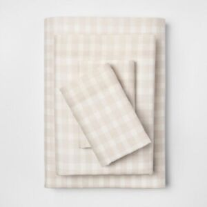 Vintage Washed Print Percale Sheet Set Twin 3 Piece  - Threshold New