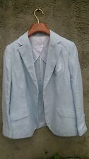 Elegance Paris  Lady's Elegant Blue Jacket Size L  Formal