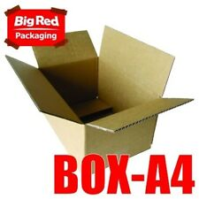 25 x Moving Box A4 Cardboard Carton 320x220x165mm Boxes Packing Crystal