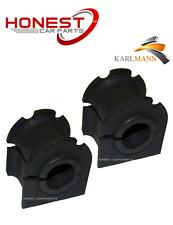 For JAGUAR X TYPE 2001> 2.0 2.5 3.0 V6 FRONT ANTI ROLL BAR D BUSHES X2
