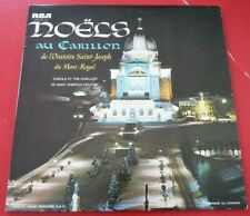 Rare LP vinyl Album Noëls au Carillon de L'Oratoire St-Joseph - Emilien Allard
