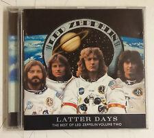 Led Zeppelin Latter Days - The Best Of Led Zeppelin Vol. 2 CD Alemania 2000