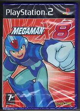 PS2 Megaman X8 (2005), UK Pal, Brand New & Sony Factory Sealed