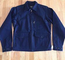 RRL Double RL Ralph Lauren Denim Selvedge Navy Blue Jacket Small New $690