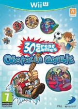 Family Party 30 Great Games Obstacle Arcade - Nintendo Wii U Game. Complete.