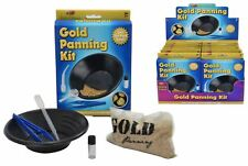 Gold panning kit pan for gold activity science gift