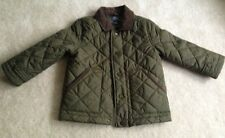 Ralph Lauren Boys Olive Green Quilted Jacket- Size 4