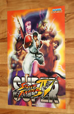 Super Street Fighter IV / Pokemon HeartGold and SoulSilver Rare Poster PS3 NDS