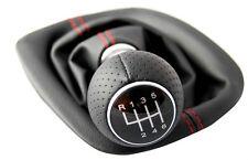 Passend für VW Golf 5 6 Gang Schaltknauf Schaltsack 6 gear new red