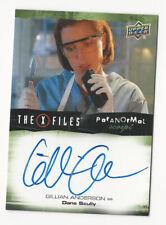 Gillian Anderson The X Files Ufos & Aliens Paranormal Script Autograph Auto Card