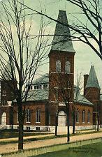 NORTH PRESBYTERIAN CHURCH, BINGHAMTON, N.Y. NEW YORK. MARYLAND, N.Y. CANCEL.