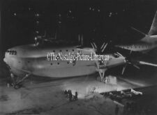 PHOTOGRAPH SAUNDERS ROE. PRINCESS FLYING BOAT NIGHT SCENE 1C