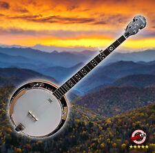 5 String Banjo Ashton BNJ50 Remo Head PRO-SCM Setup