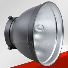 New Standard Reflector Dish 170*128mm Bowens Mount Type for Studio Flash Strobe