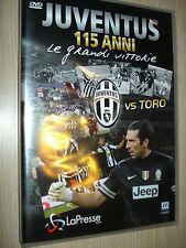 DVD OFFICIAL 115 ANNI DI STORIA LE GRANDI VITTORIE FC JUVENTUS VS TORO TORINO