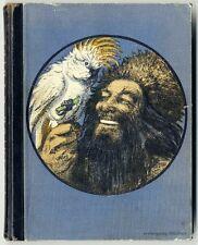 Defoe: Abenteuer des Robinson Crusoe, handkolorierte Abbildungen um 1930.