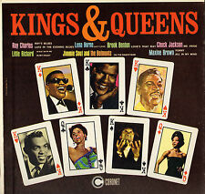 "COMPILATION ""KINGS & QUEENS"" 50'S RHYTHM AND BLUES LP CORONET 260"