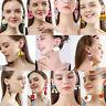 Hot Acrylic Earrings Geometric Drop Dangle Earings Elegant Women Holiday Jewelry