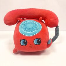 Shopkins Red Chatter Telephone Plush Stuffed Toy 5""