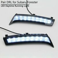 DRL For Subaru Forester 2013 2014 2015 Car Fog Lamp LED Daytime Running Light