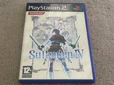 SUIKODEN IV 4 - PlayStation 2 - Free Postage