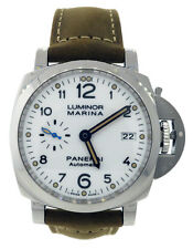 PANERAI PAM 1523 LUMINOR 1950 AUTOMATIC 3 DAYS 42mm Mens Watch White