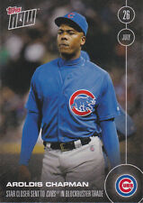 2016 Topps Now 288 AROLDIS CHAPMAN 1st Chicago Cubs Card Only 660 Made Yankees