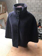 navy coercion shawl coat (size-16=18 )