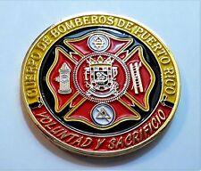 CUERPO DE BOMBEROS Puerto Rico Firefighter Fuego Incendio EMS Emergencia Engine