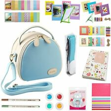 Katia Instant  Instax mini 8 Camera Photo  Bag Blue Film Photography Bundles