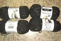Loops And Threads Impeccable Yarn Charcoal Tweed  4 Skeins