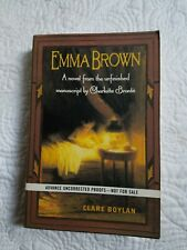 Clare BOYLAN, Charlotte Brontë / Emma Brown Advance Reading Copy 1st 2004