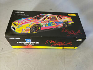 Nascar Action Dale Earnhardt #3 GM Goodwrench Service Plus 1:24 Scale Stock Car.