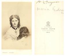 Charles Jacotin, Paris, Princesse Dagmar de Danemark, impératrice de Russie CDV