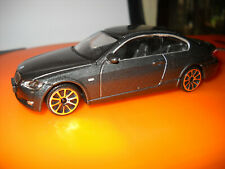 "BMW 645i cabriolet en rencontré Gris BURAGO DIECAST 1:43 /""Street Fire gamme/"""