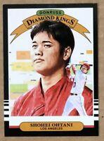 2019 Donruss Baseball Shohei Ohtani #14 Diamond Kings Los Angeles Angeles