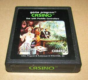 Casino for Atari 2600 Fast Shipping! Authentic