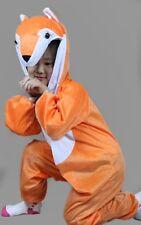 Children Kids Julia Donaldson Animal Costume Fancy Dress Outfit Fox 3 5 8 years