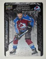 2019-20 Credentials Steel Wheels #SW-10 Cale Makar RC - Colorado Avalanche