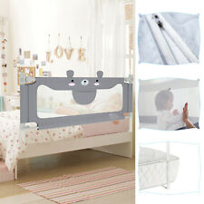 200cm Bettschutzgitter Rausfallschutz Babybett Bettgitter Bettrailing für Baby