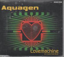 Aquagen Lovemachine incl. Cosmic Gate Remix Maxi CD NEU