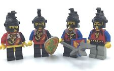 LEGO LOT OF 4 DRAGON KNIGHTS CASTLE MINIFIGURES SOLDIER VINTAGE FIGS