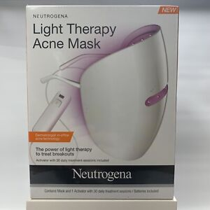 Light Therapy Acne Mask New Sealed box Activator & 30 treatments