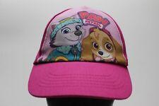 PAW PATROL - NICKELODEON - GIRLS SIZE - ADJUSTABLE BALL CAP HAT!