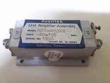 Avantek unit amplifier assembly sd30-0332m 60-120MHz