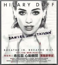 Hilary Duff: Breathe in Breathe out (2015) CD SLIPCOVER TAIWAN