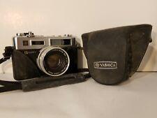 Yashica G Electro GSN 35mm Rangefinder Film Camera Yashinon 45mm Lens With Case